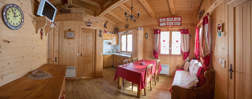 Camp site chalets for rental | Camping Bornand