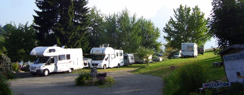 Camping avec services