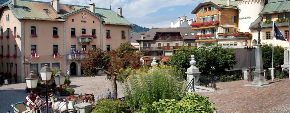 Megève, village authentique de montagne savoyard